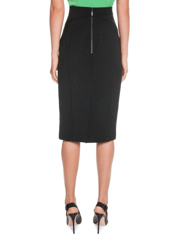 High Waisted Pencil Skirt image 2