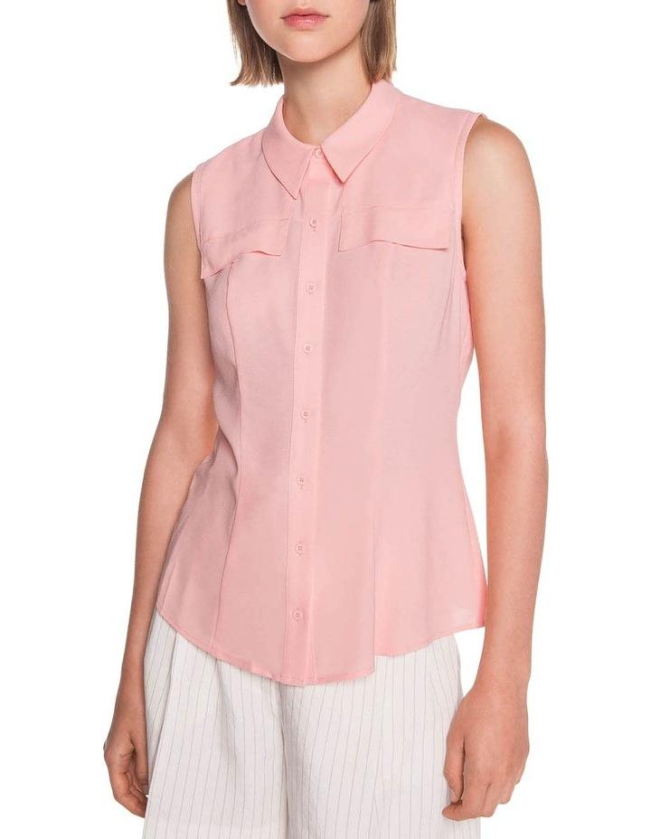 Light Crepe Sleeveless Shirt image 2
