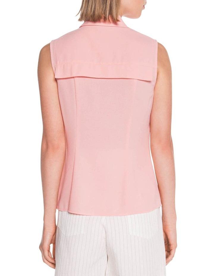 Light Crepe Sleeveless Shirt image 3