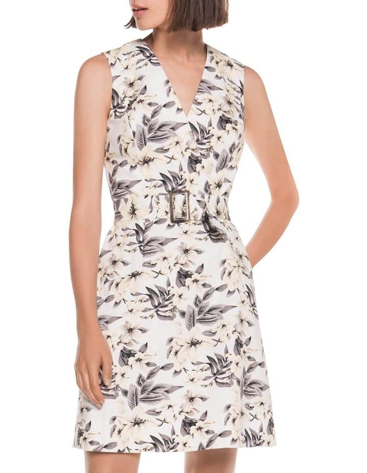 Tropical Ottoman A-Line Dress image 1
