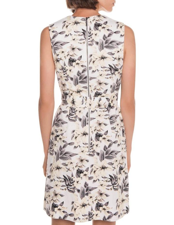 Tropical Ottoman A-Line Dress image 3