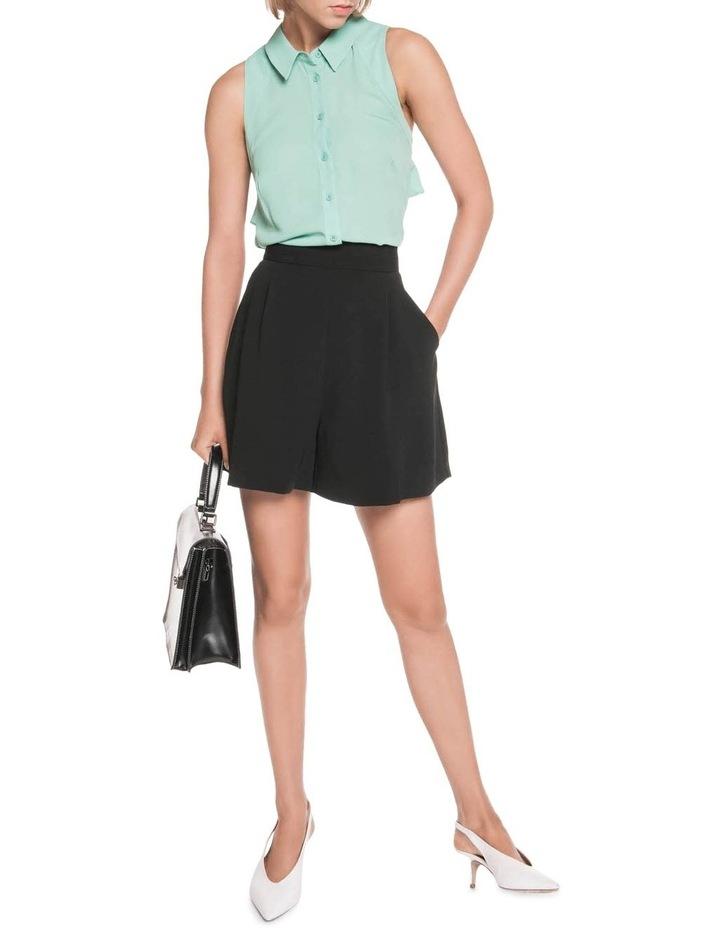 Georgette Sleeveless Shirt image 4