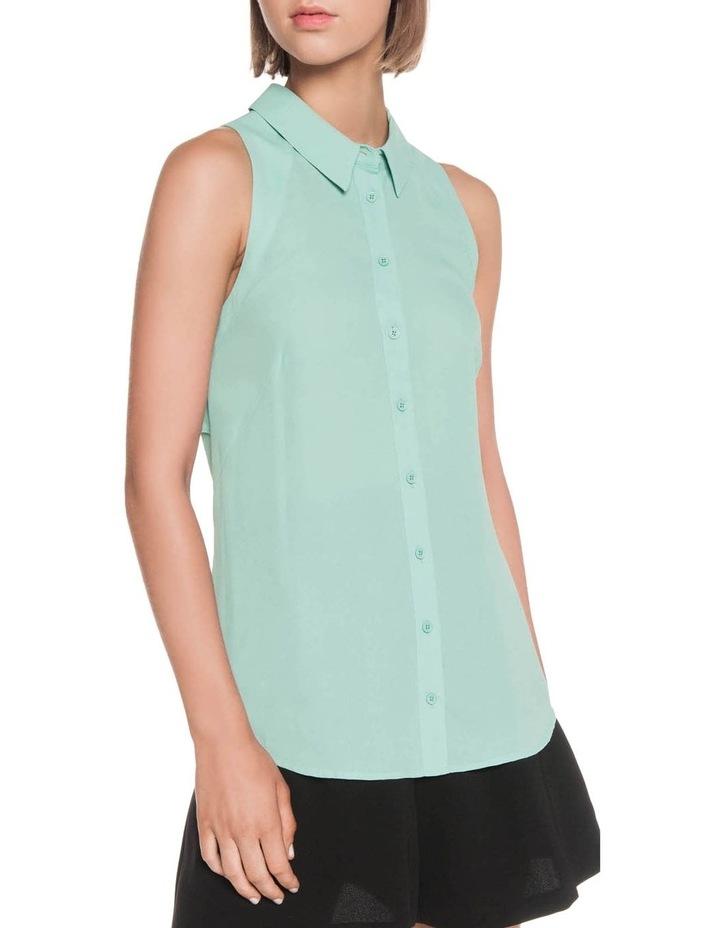 Georgette Sleeveless Shirt image 5