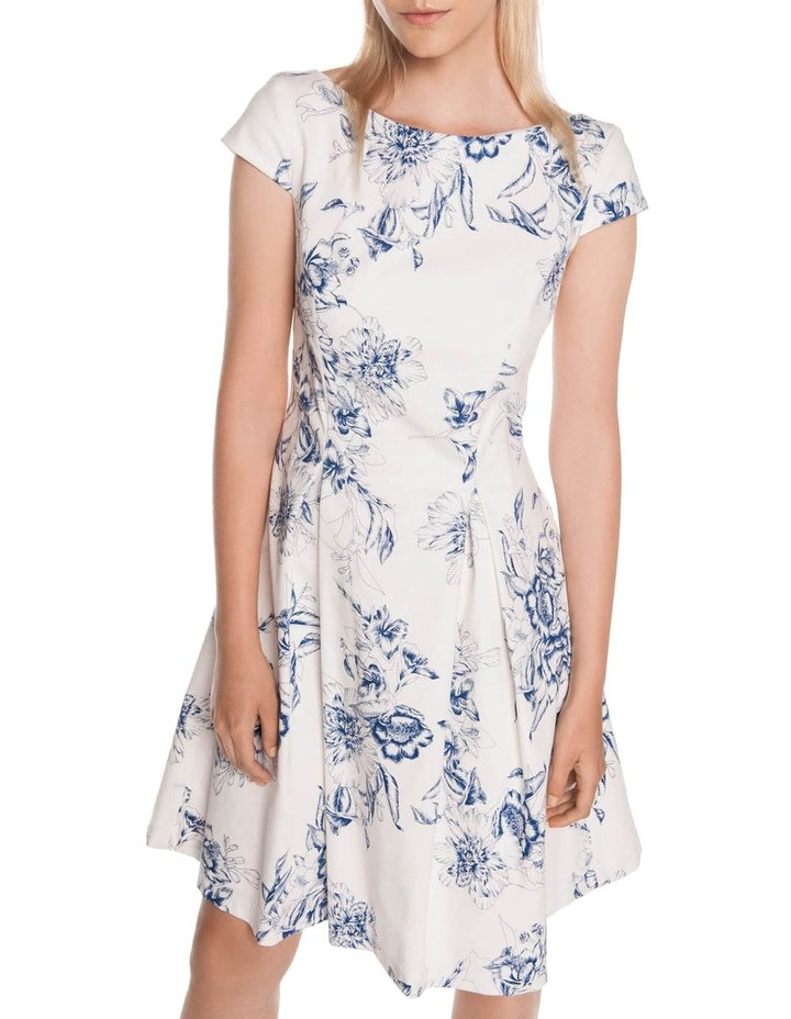 Toile Floral Fit and Flare Dress image 2