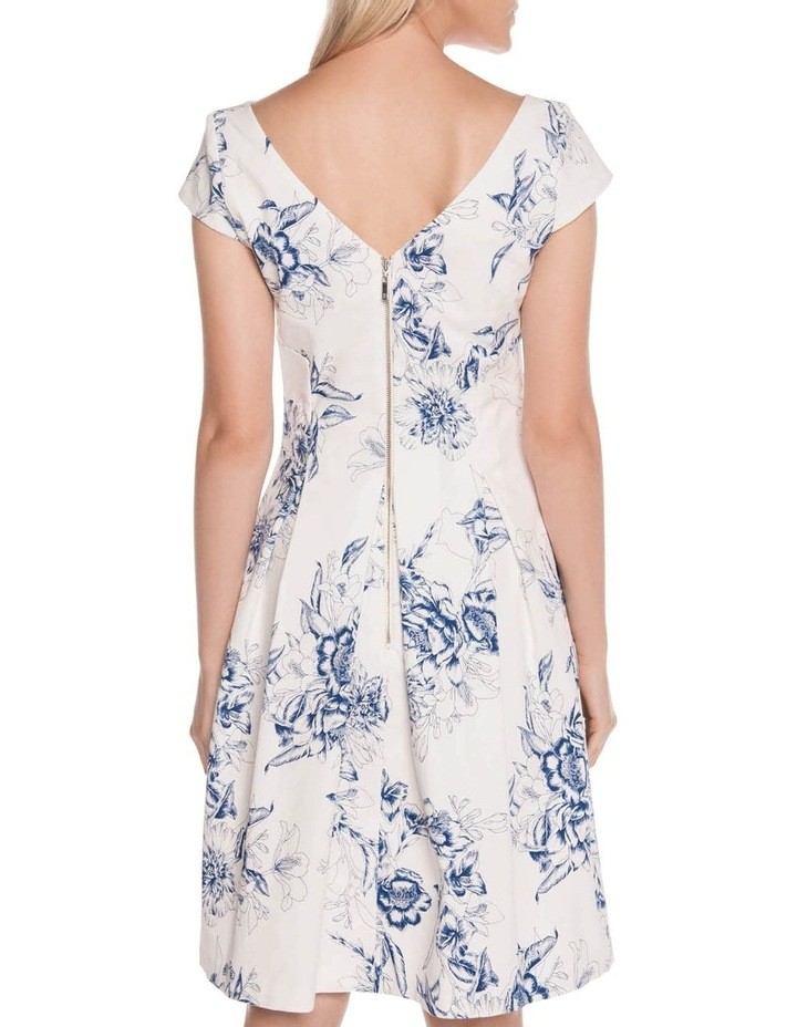 Toile Floral Fit and Flare Dress image 3