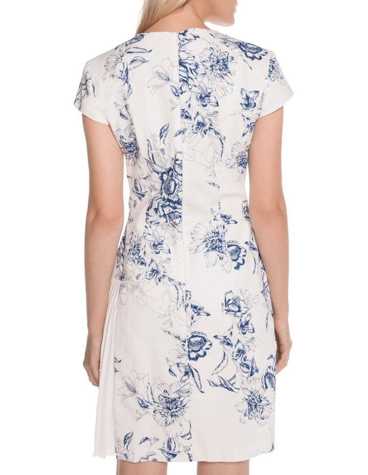 Toile Floral Asymmetric Dress image 2