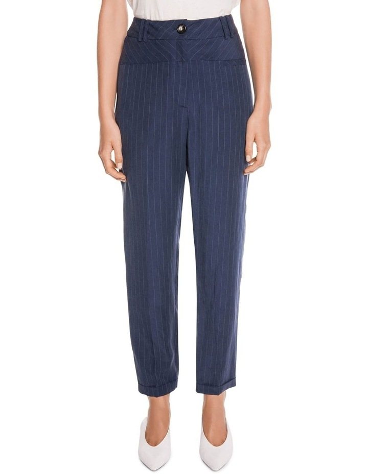 Striped Slim Leg Pant image 1