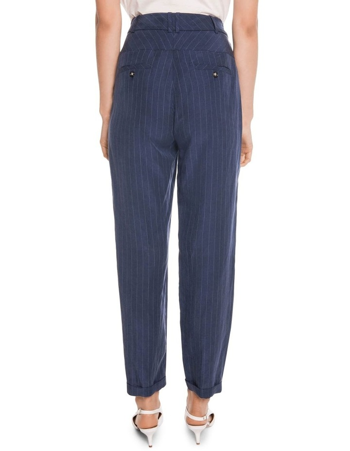 Striped Slim Leg Pant image 2