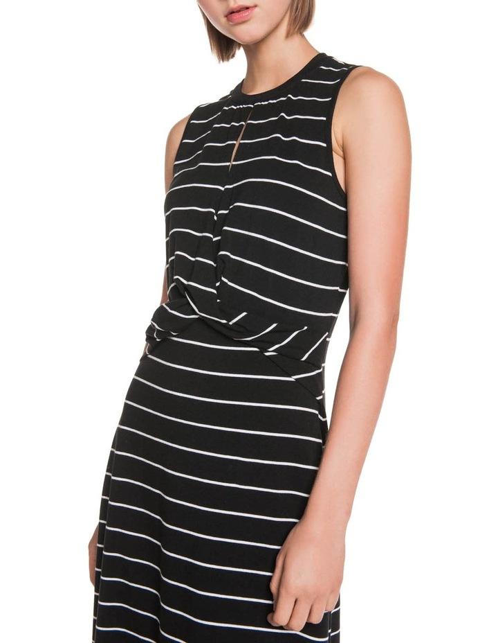Stripe Jersey Midi Dress image 2