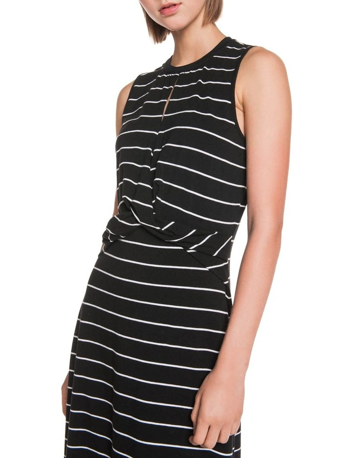 Stripe Jersey Midi Dress image 5