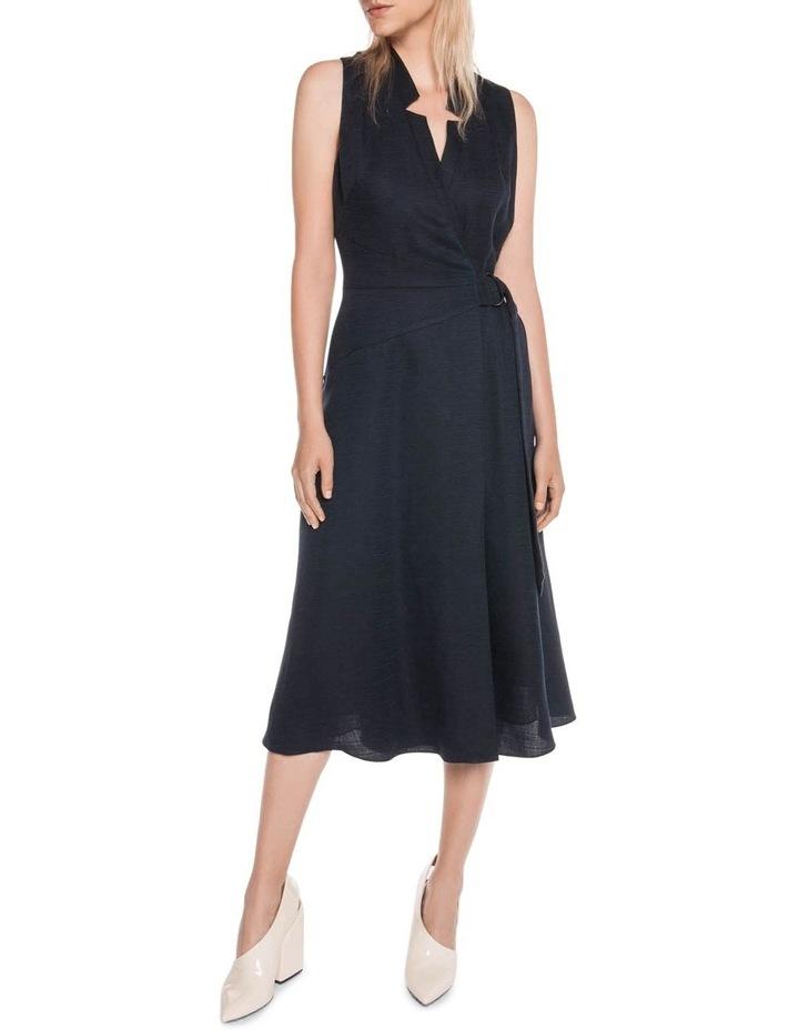 Textured Tencel Wrap Dress image 1