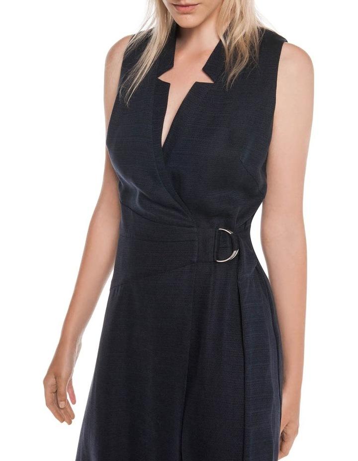 Textured Tencel Wrap Dress image 2