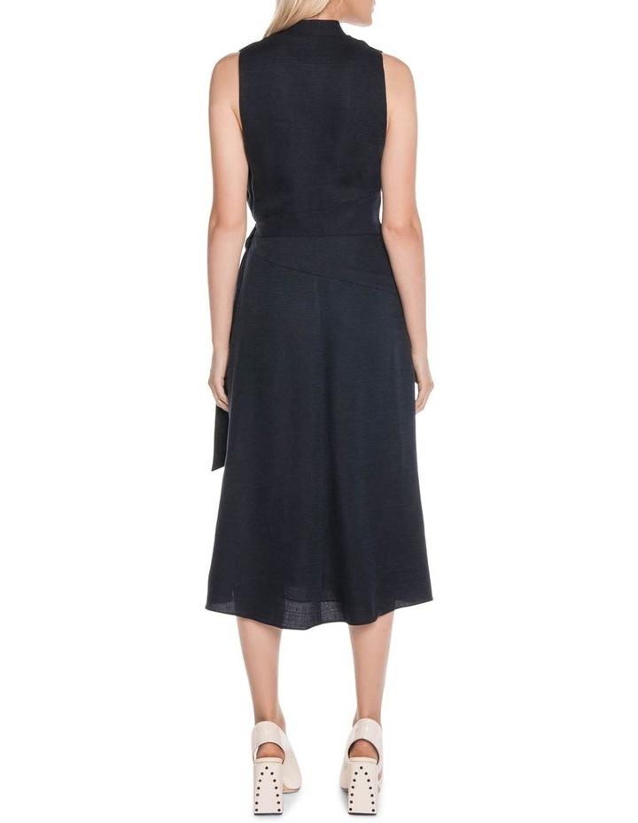 Textured Tencel Wrap Dress image 3