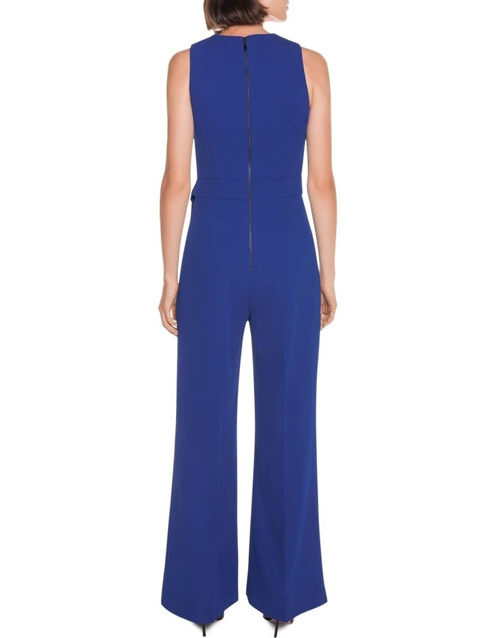 Triple Dobby Wide Leg Jumpsuit image 3