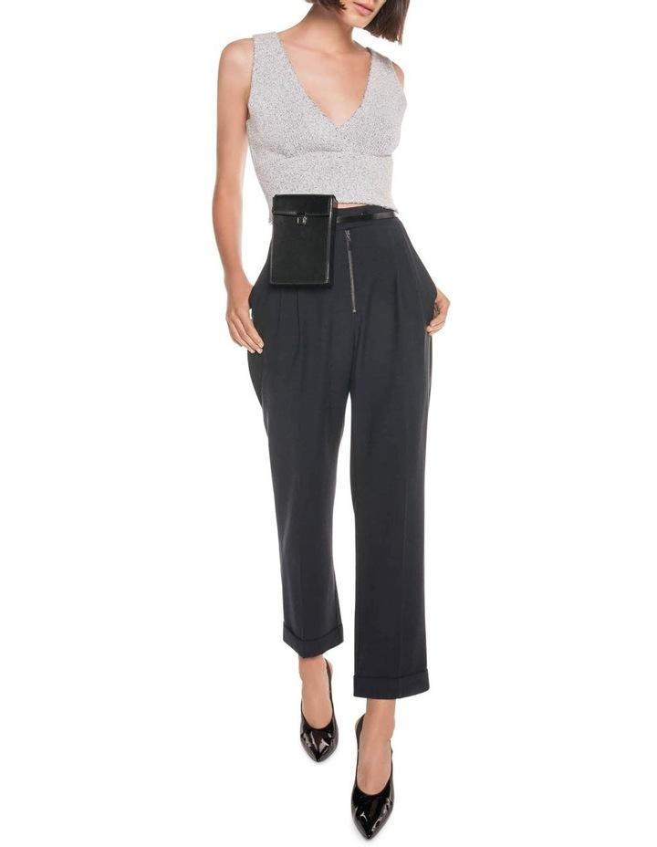 Drapey Pique Slim Pant image 1