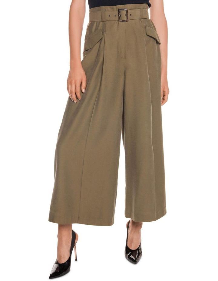 Drapey Pique Wide Leg Pant image 2