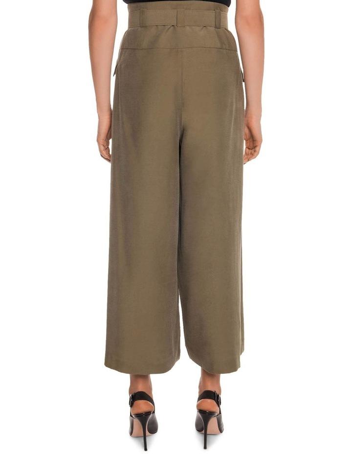 Drapey Pique Wide Leg Pant image 3