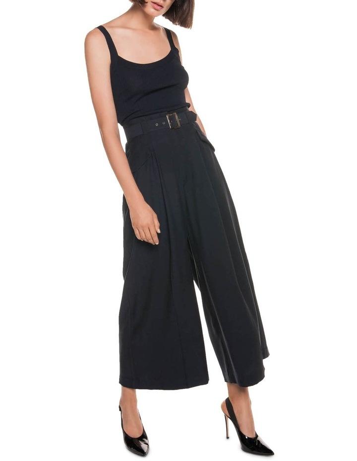 Drapey Pique Wide Leg Pant image 1