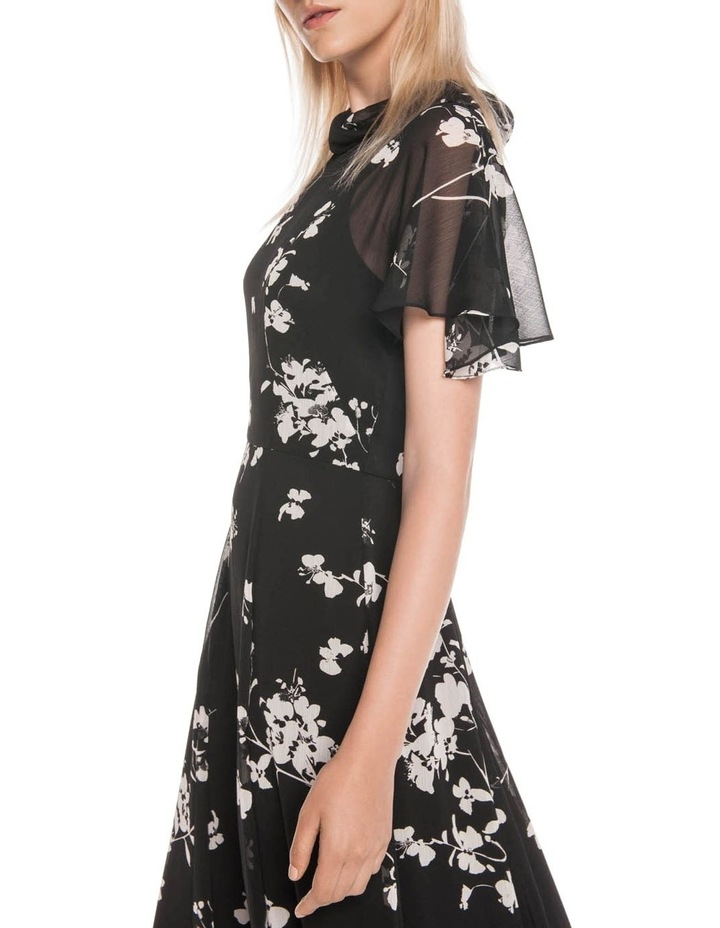Cherry Blossom Georgette Midi Dress image 2