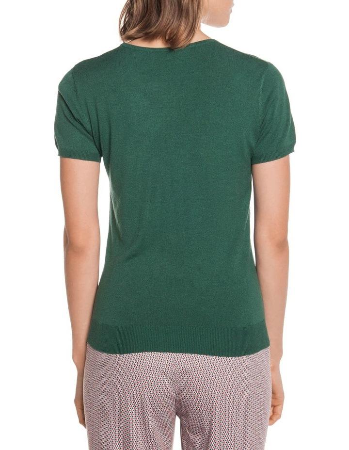Round Neck Short Sleeve Knit image 3