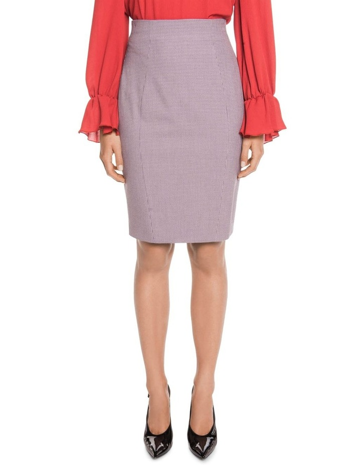 Cross Hatch Pencil Skirt image 1