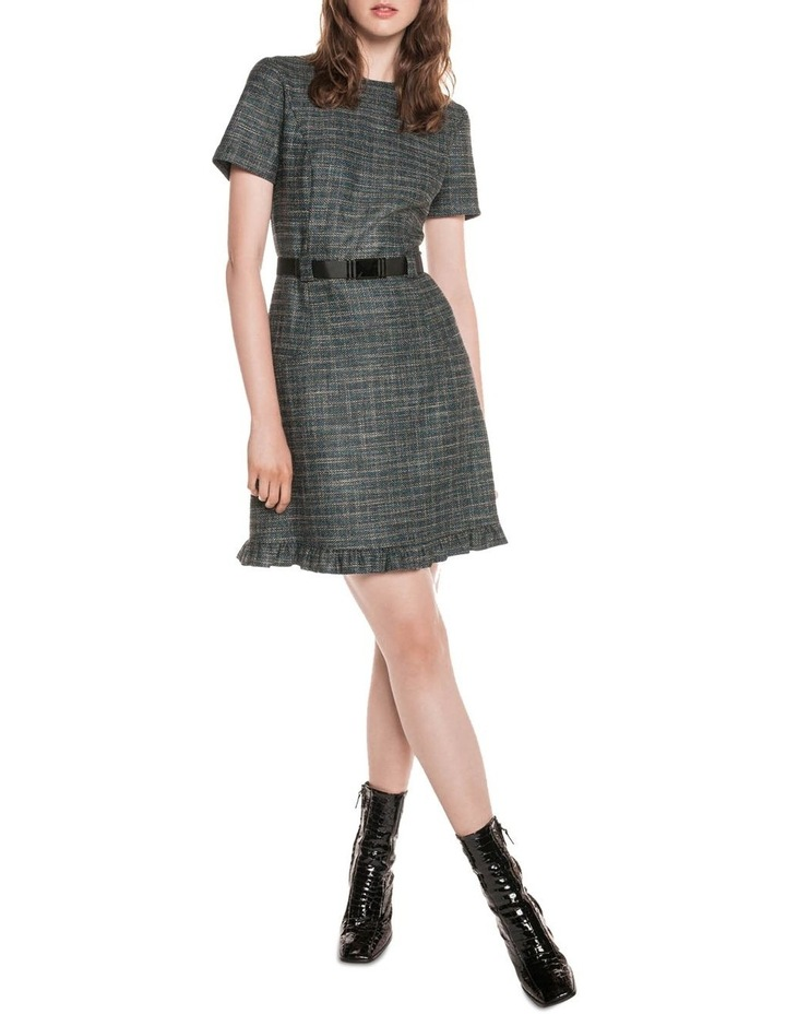 9162bde7 Cue Tweed Belted Dress
