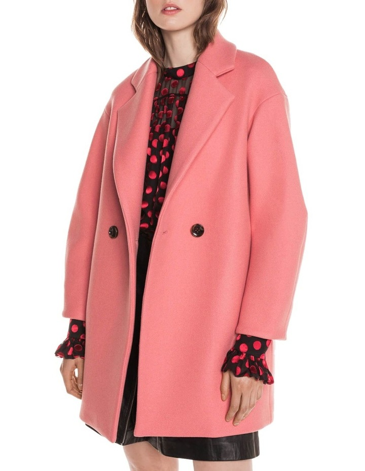Pink Double Breasted Coat image 2