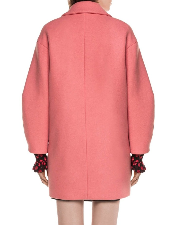Pink Double Breasted Coat image 3