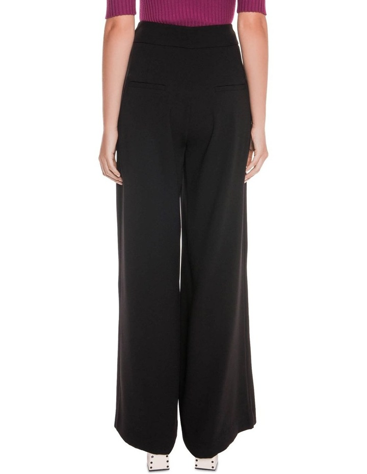 Satin Back Crepe High Waisted Pant image 3