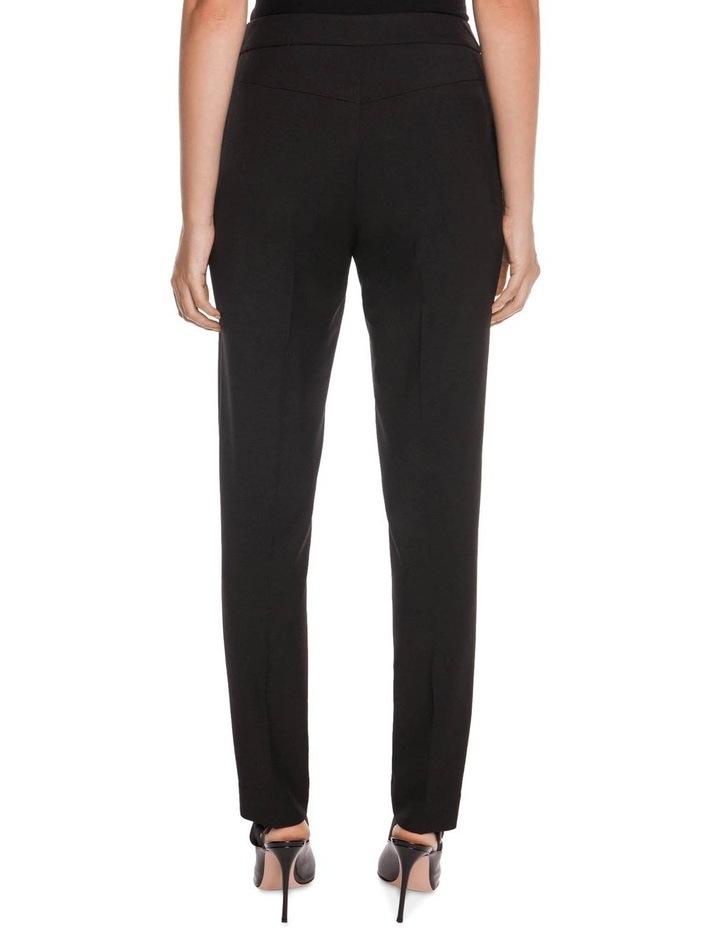 Textured Twill Slim Leg Pant image 3