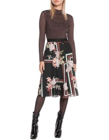 de07cad13892 Cue Floral Scarf Pleated Midi Skirt