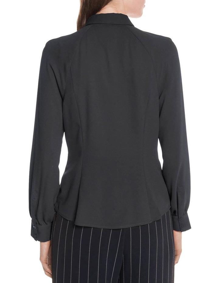 Crepe Raglan Sleeve Shirt image 3