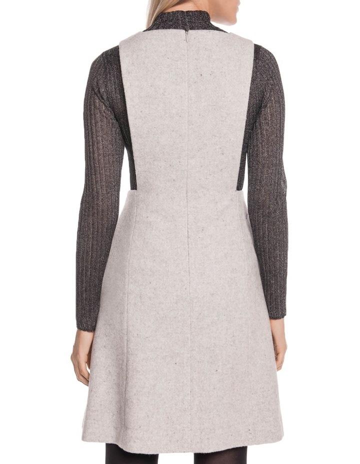 Textured Wool Pinafore image 3