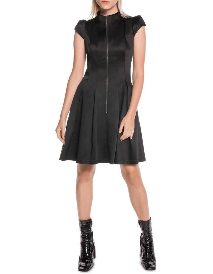 Cap Sleeve Zip Front Dress image 1