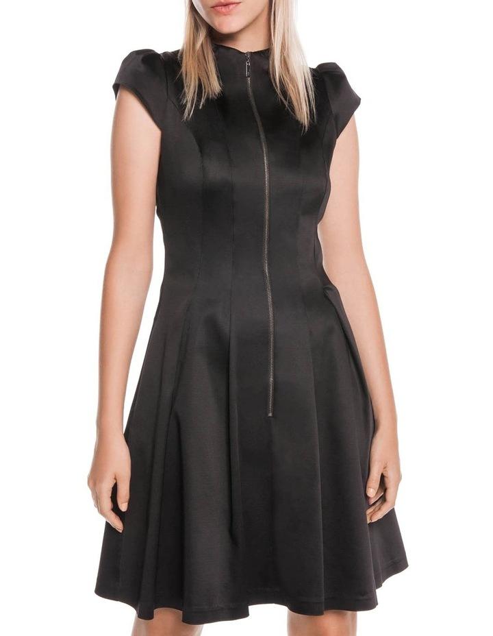 Cap Sleeve Zip Front Dress image 2