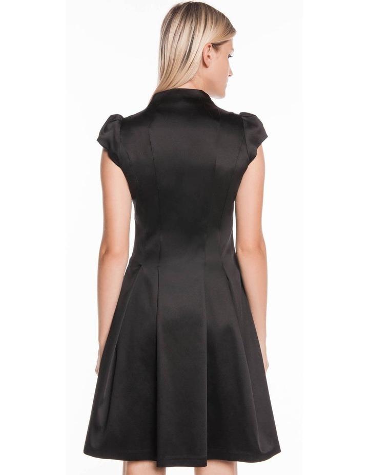 Cap Sleeve Zip Front Dress image 3