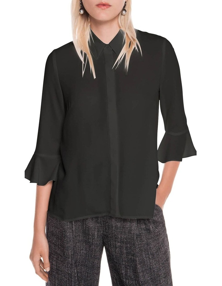 Crepe Fluted Cuff Shirt image 2