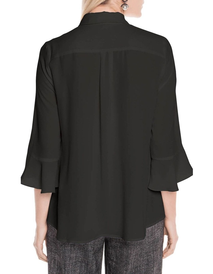 Crepe Fluted Cuff Shirt image 3