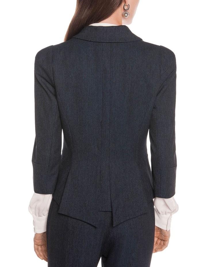 Textured Ink Spliced Sequin Jacket image 4