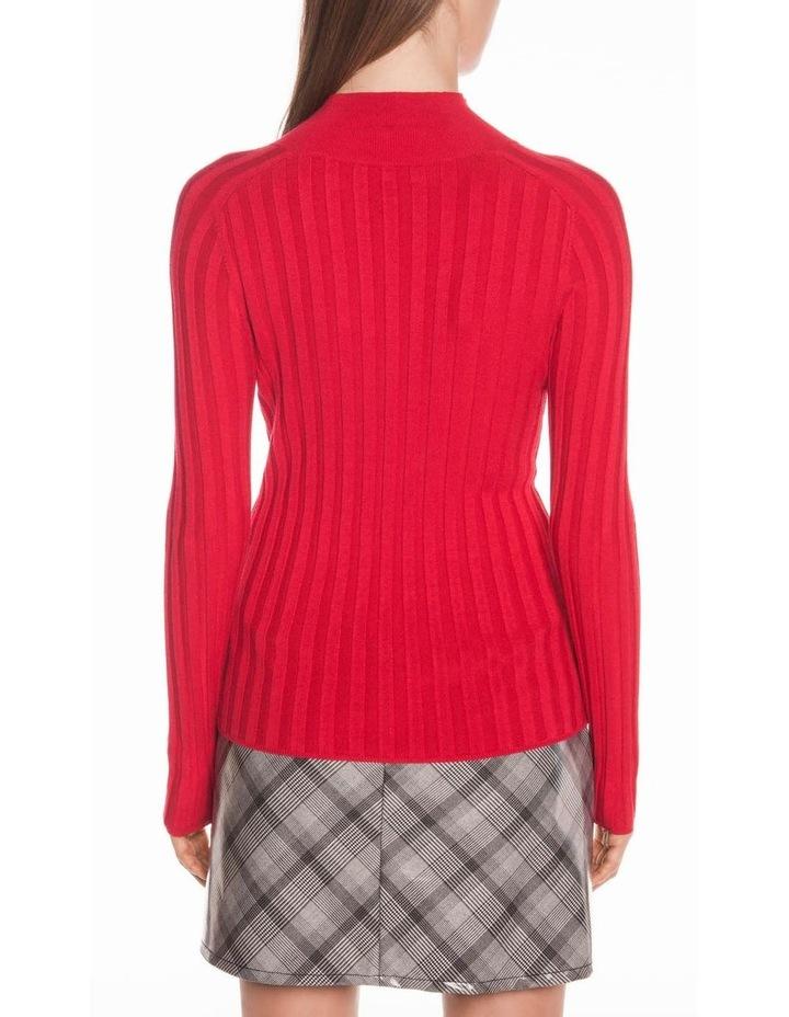 Wide Rib Long Sleeve Knit image 3