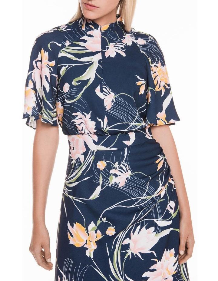 Oriental Lily Asymmetric Dress image 2