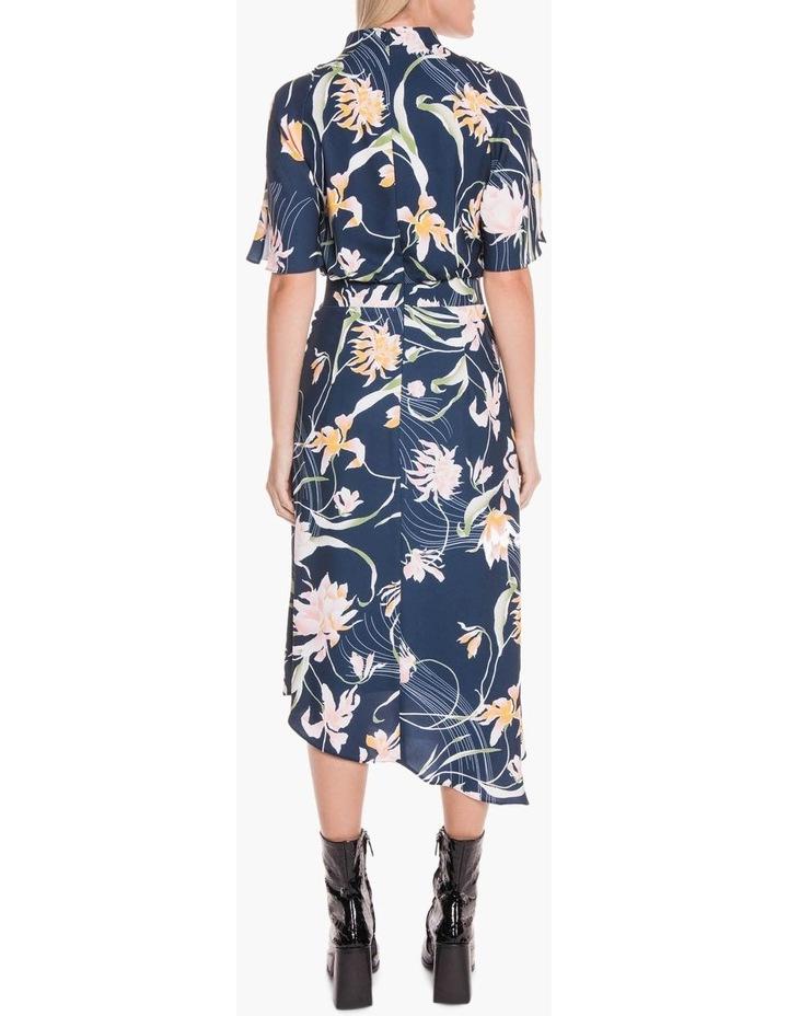Oriental Lily Asymmetric Dress image 3