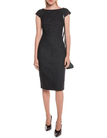 7f1207872b9 Cue Textured Indigo Panelled Pencil Dress