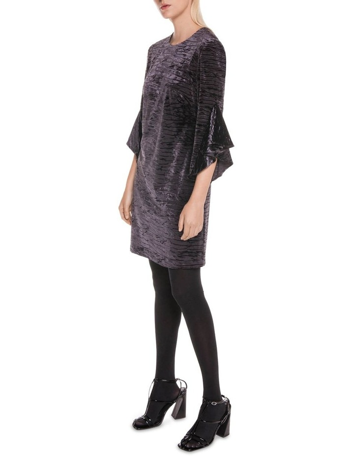 Fluted Sleeve Shift Dress image 1