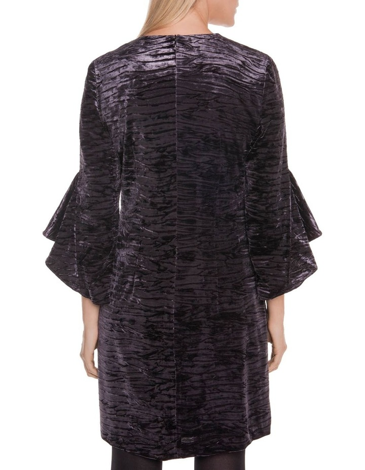 Fluted Sleeve Shift Dress image 3
