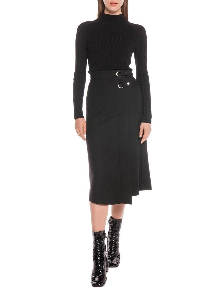 Wool Blend Midi Skirt image 1