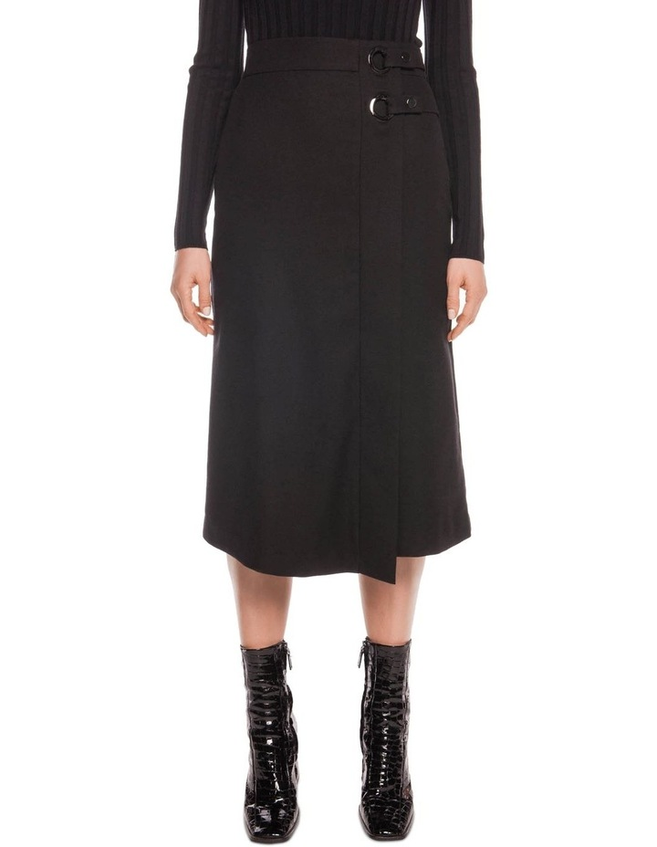 Wool Blend Midi Skirt image 2