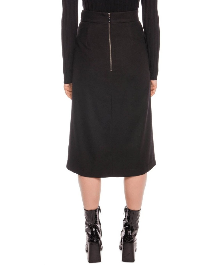 Wool Blend Midi Skirt image 3