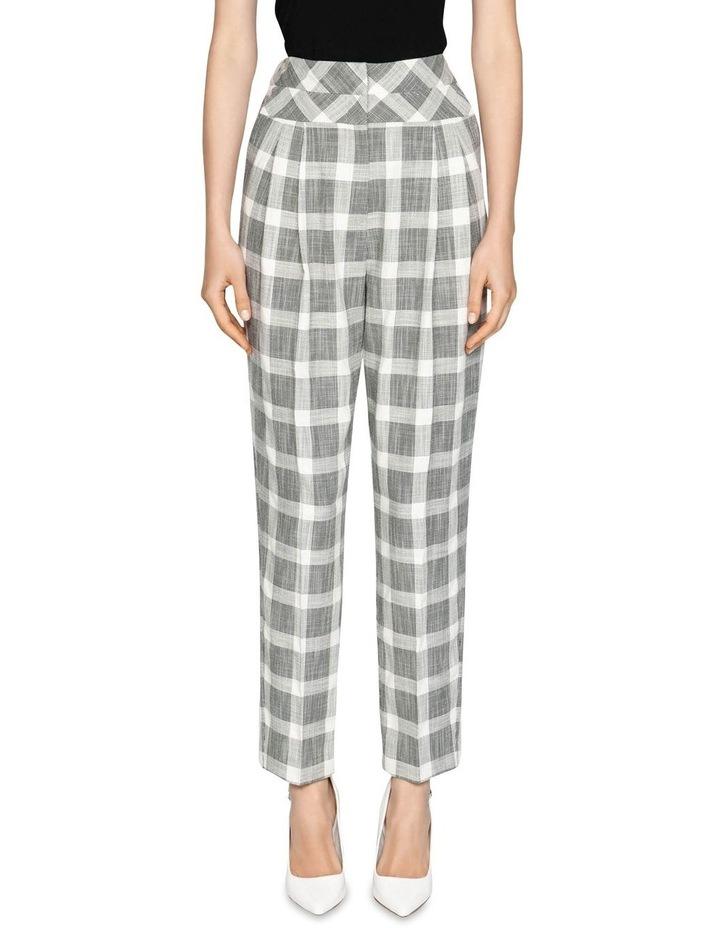 Monochrome Check Trouser image 2