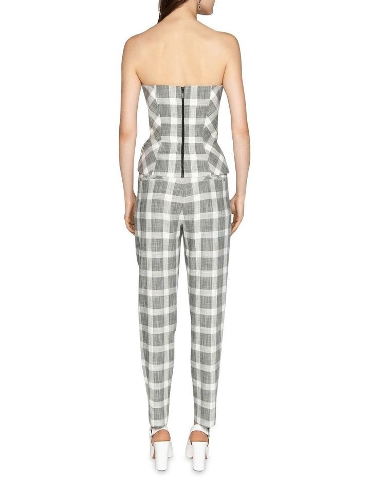 Monochrome Check Trouser image 3